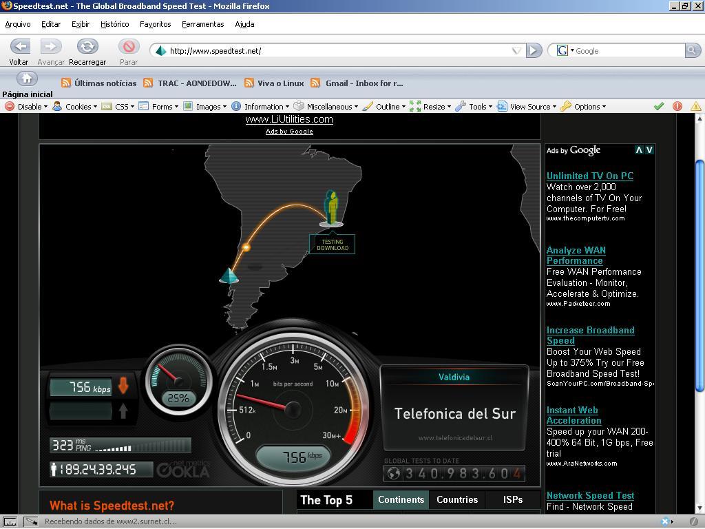 Baixar Speedtest.net