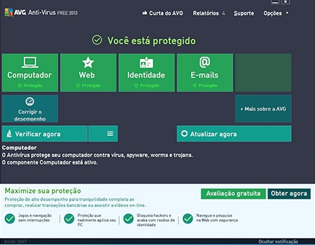 download AVG Antivírus Free 2013
