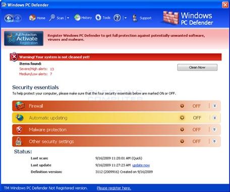 baixar Microsoft Windows Defender 7.0