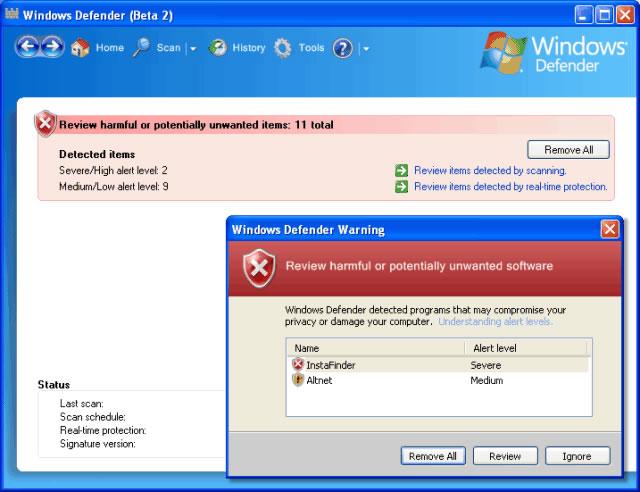 Baixar Microsoft Windows Defender